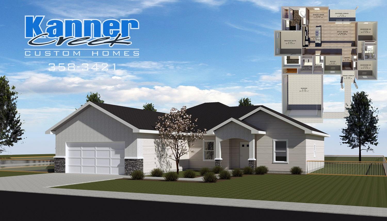 Exterior Render & Floor Plan_Heritage #1